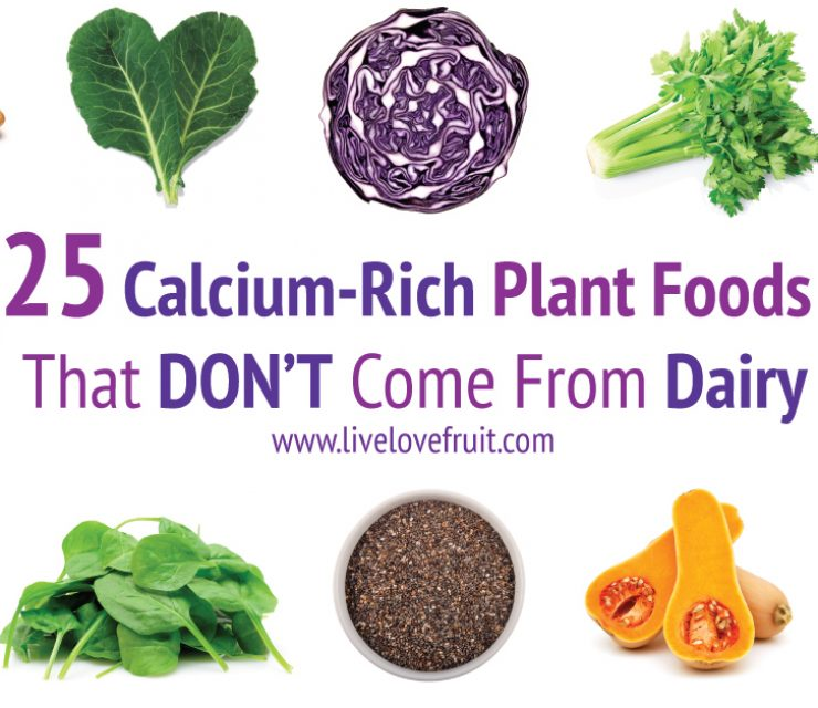 25 Calcium Rich Plant Foods