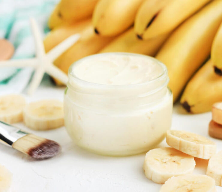 banana mask for beauty purposes