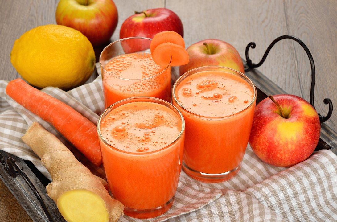 Apple Carrot Ginger Juice