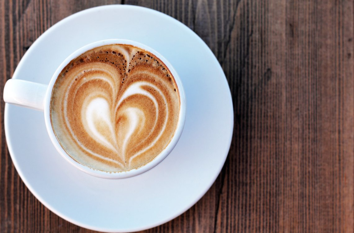raw vegan chai latte