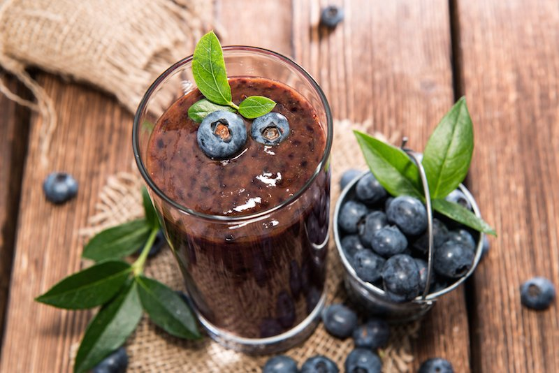 Antioxidant-Rich Blueberry Smoothie