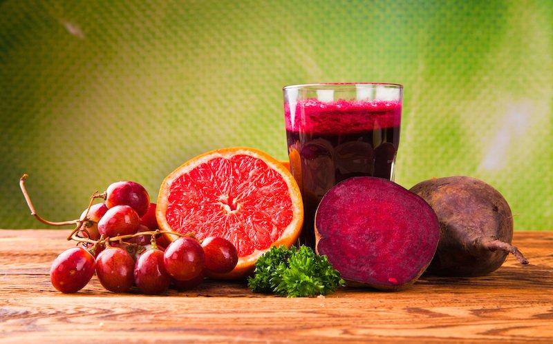 Grape Infused Citrus Beet Juice