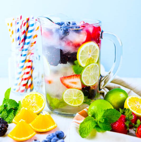 Fruit-Infused Detox Water