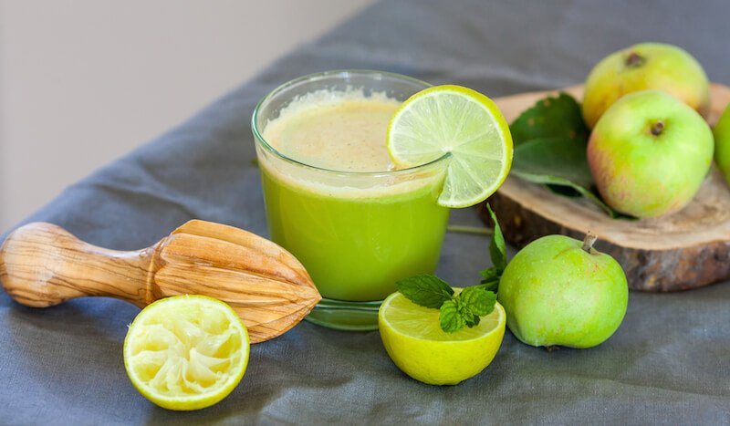 Apple Lime Mint Juice