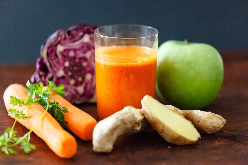 Miracle Cabbage Carrot Juice