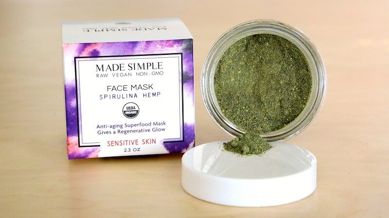 spirulina-hemp-face-mask