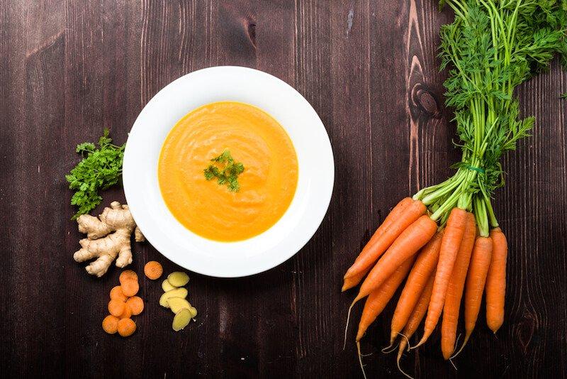 Turmeric-Spiced Carrot Soup
