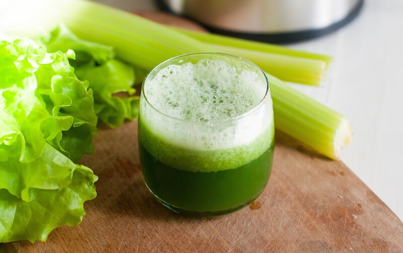 Celery-apple-turmeric-juice