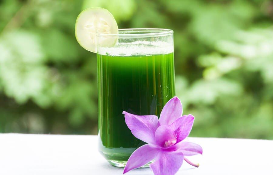 Coconut Celery Cucumber Juice