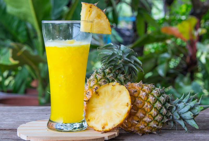 Enzyme-Rich Pineapple Smoothie