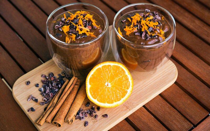 Citrus Spiced Chocolate Smoothie