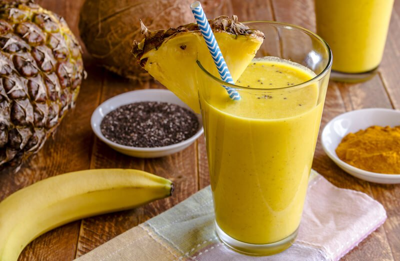 pineapple-smoothie-strengthen-tendons