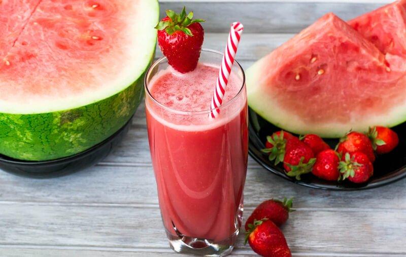 Strawberry Watermelon Limeade