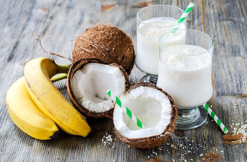 Creamy Coconut Banana Shake