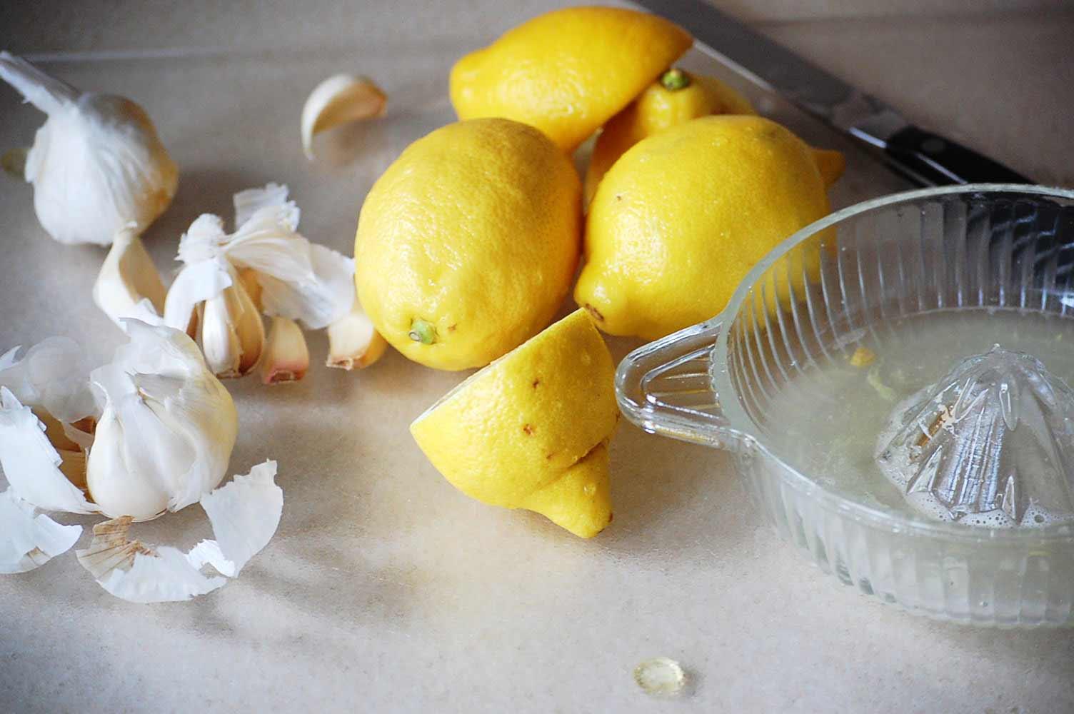 Lemon Garlic Tonic