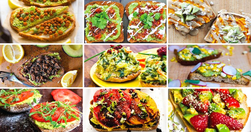 Vegan Ways To Eat Avocado Toast