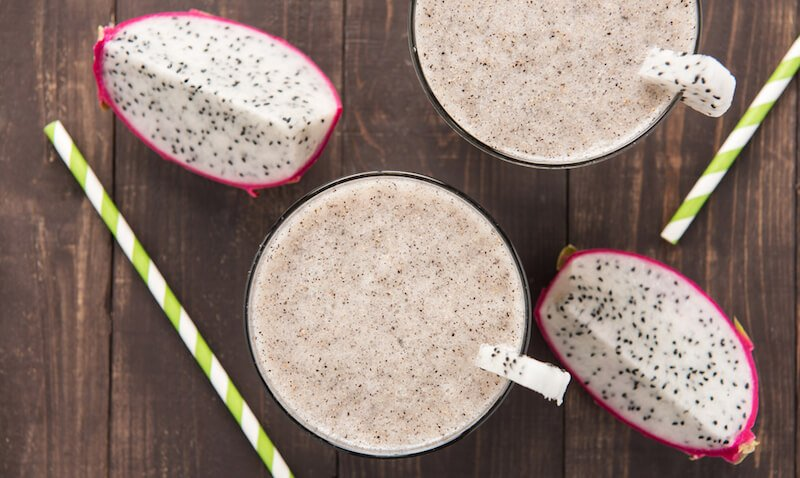 Dragon Fruit Coconut Smoothie