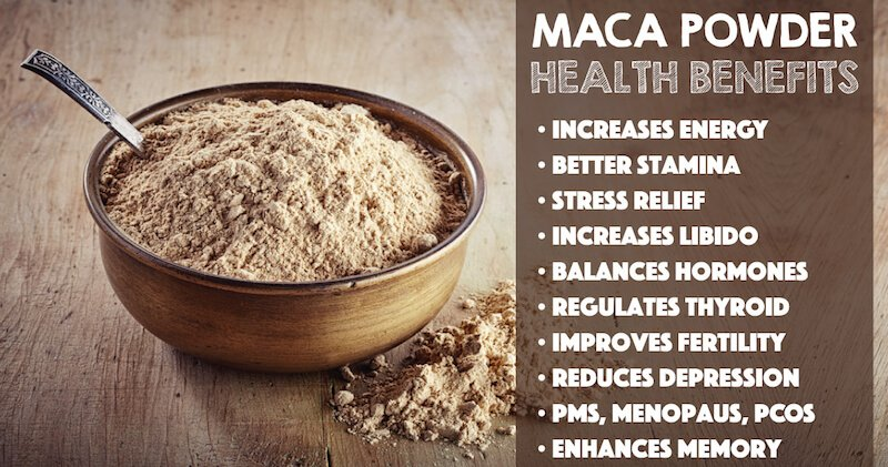10 Ways Eating Maca Powder Can Improve Your Health