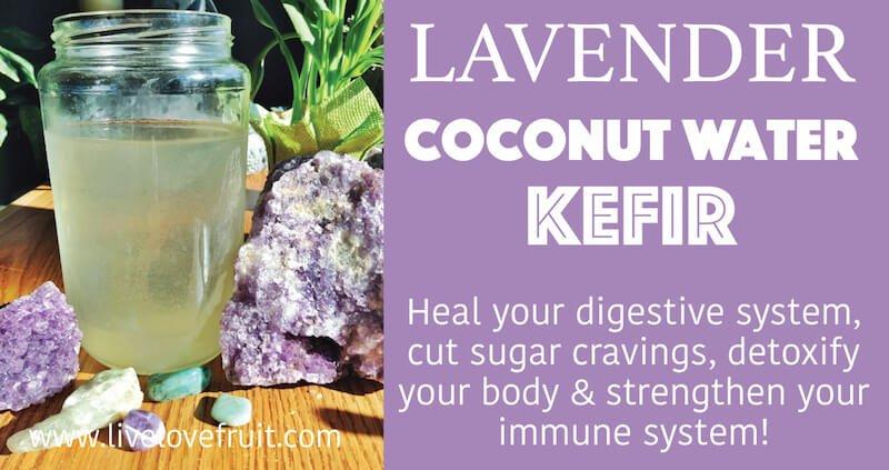Lavender Coconut Water Kefir