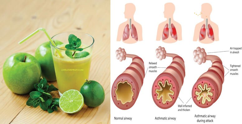 Make This Apple Mint Juice To Heal The Digestive Tract And