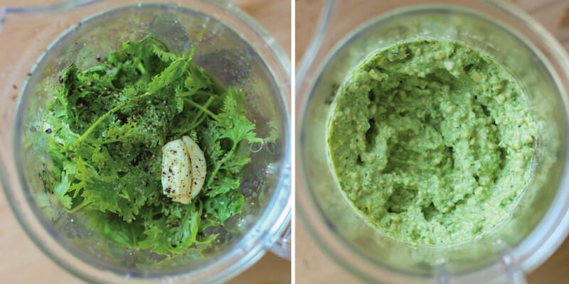 Basil-raw-pesto