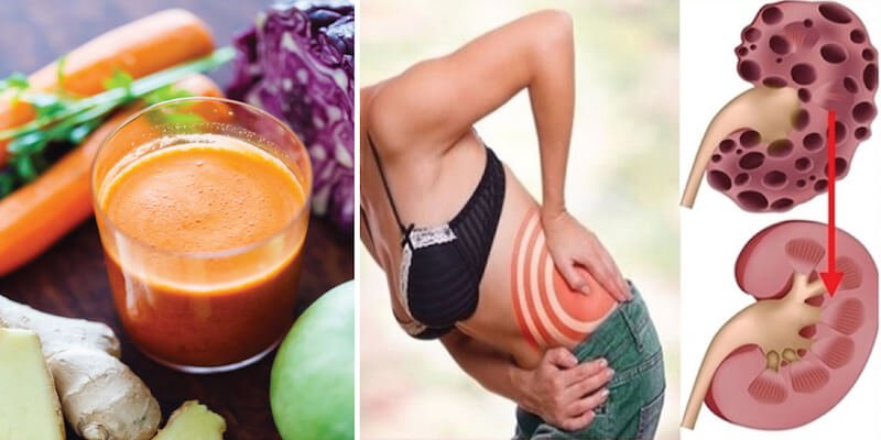 Carrot Cabbage Kidney Cleanse Juice