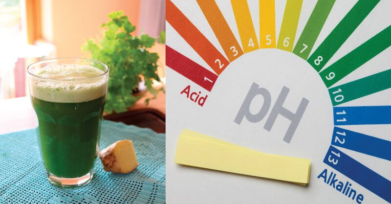 pH-Shifting Alkaline Juice