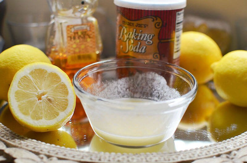 Alkalizing Lemon-Soda Drink