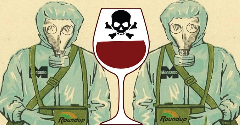 Glyphosate Found in California Wines