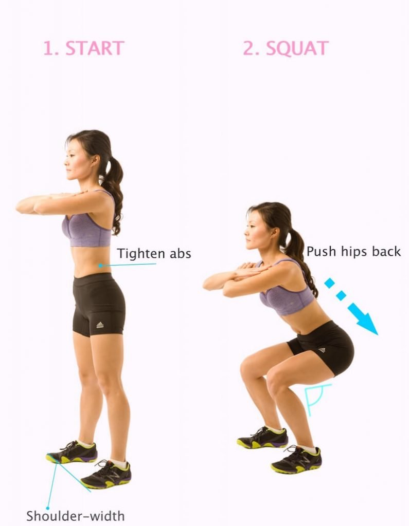 howtosquat