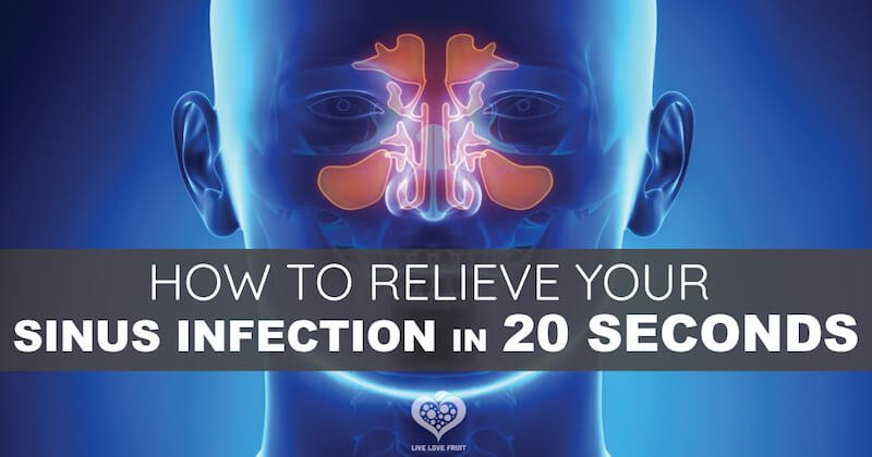 Kill A Sinus Infection In 20 Seconds