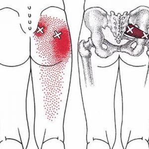 deep piriformis stretch