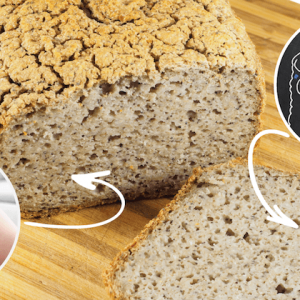 buckwheat chia bread