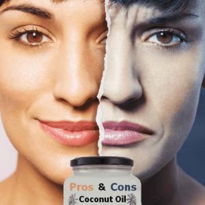 eating coconut oil