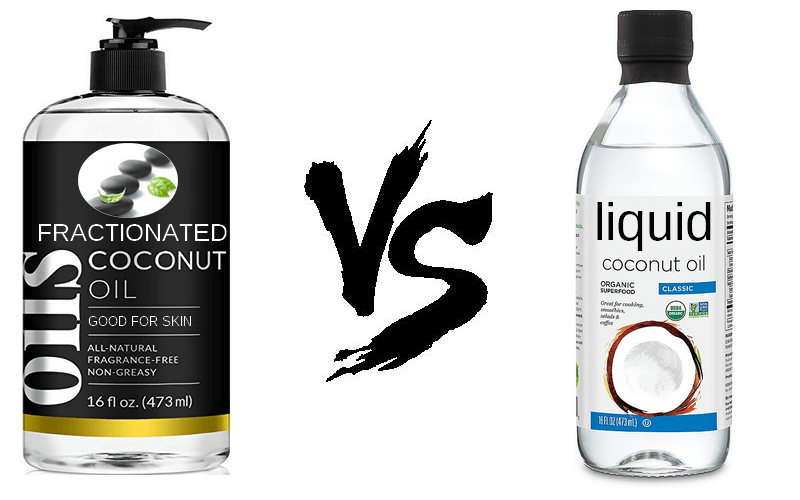 Fractionated Coconut Oil vs Liquid Coconut Oil