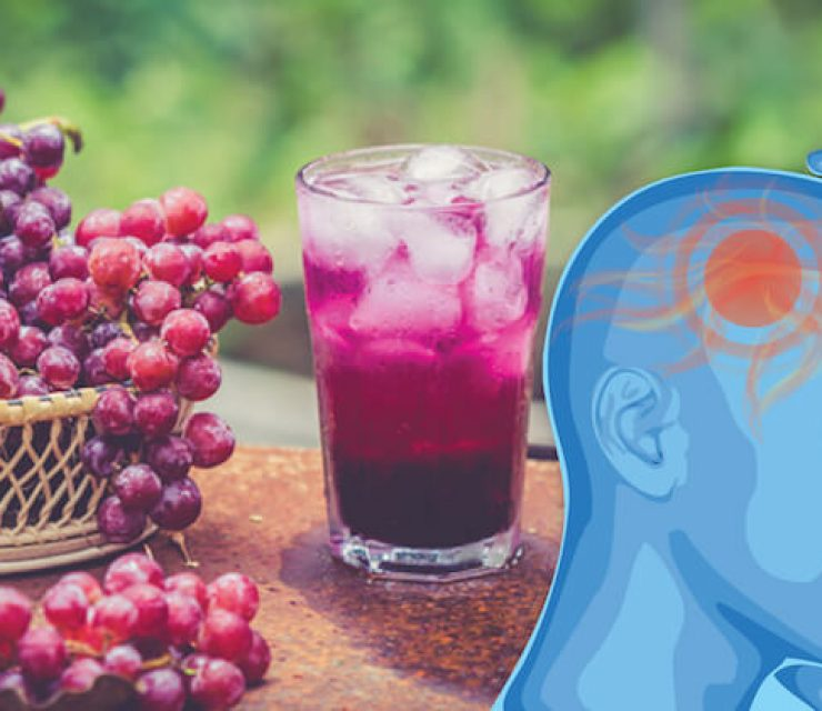 migraine-busting grape juice