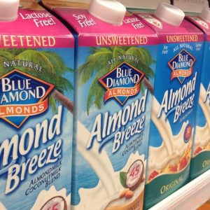store-bought almond milk
