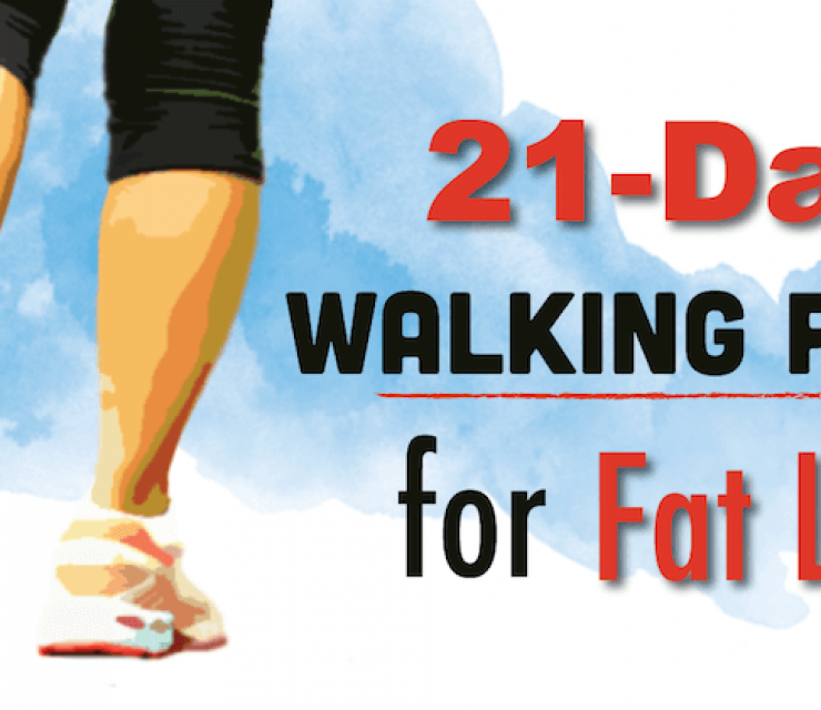 21-day walking plan