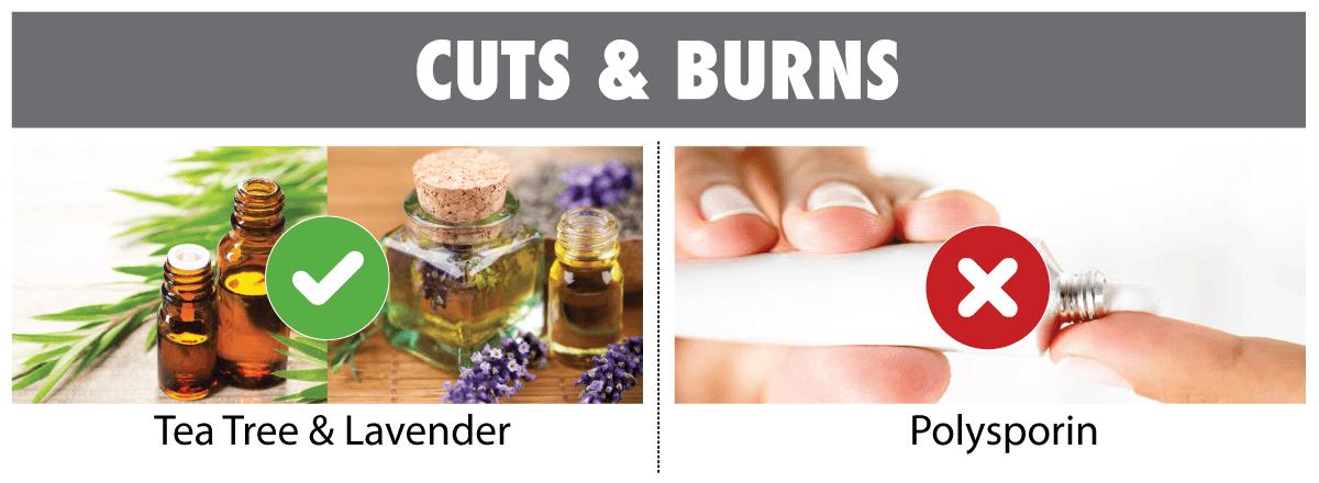 cut and burn remedies