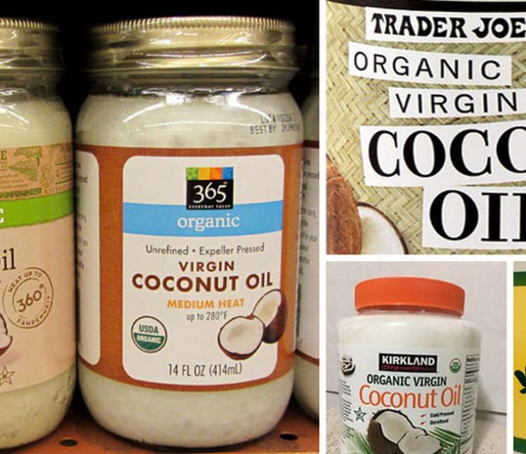 coconut oil labels
