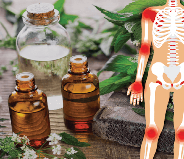 pain-relieving essential oils