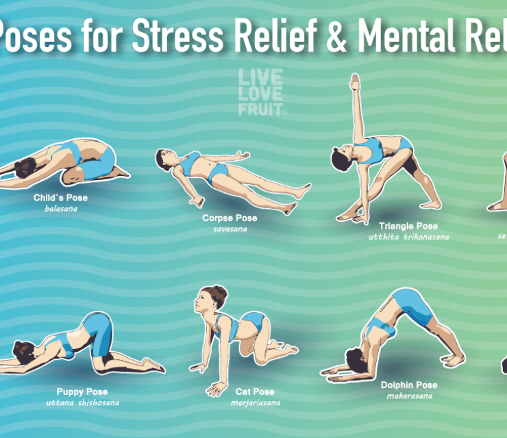 yoga poses to reduce stress