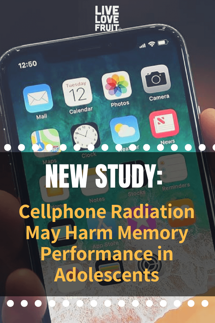 Cellphone radiation harms memory performance in teens, according to a new study that examined exposure to RF-EMF during mobile phone use.