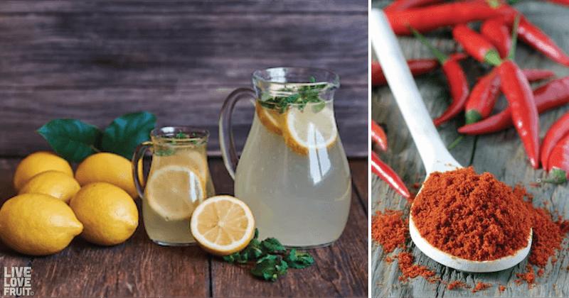 raw homemade lemonade