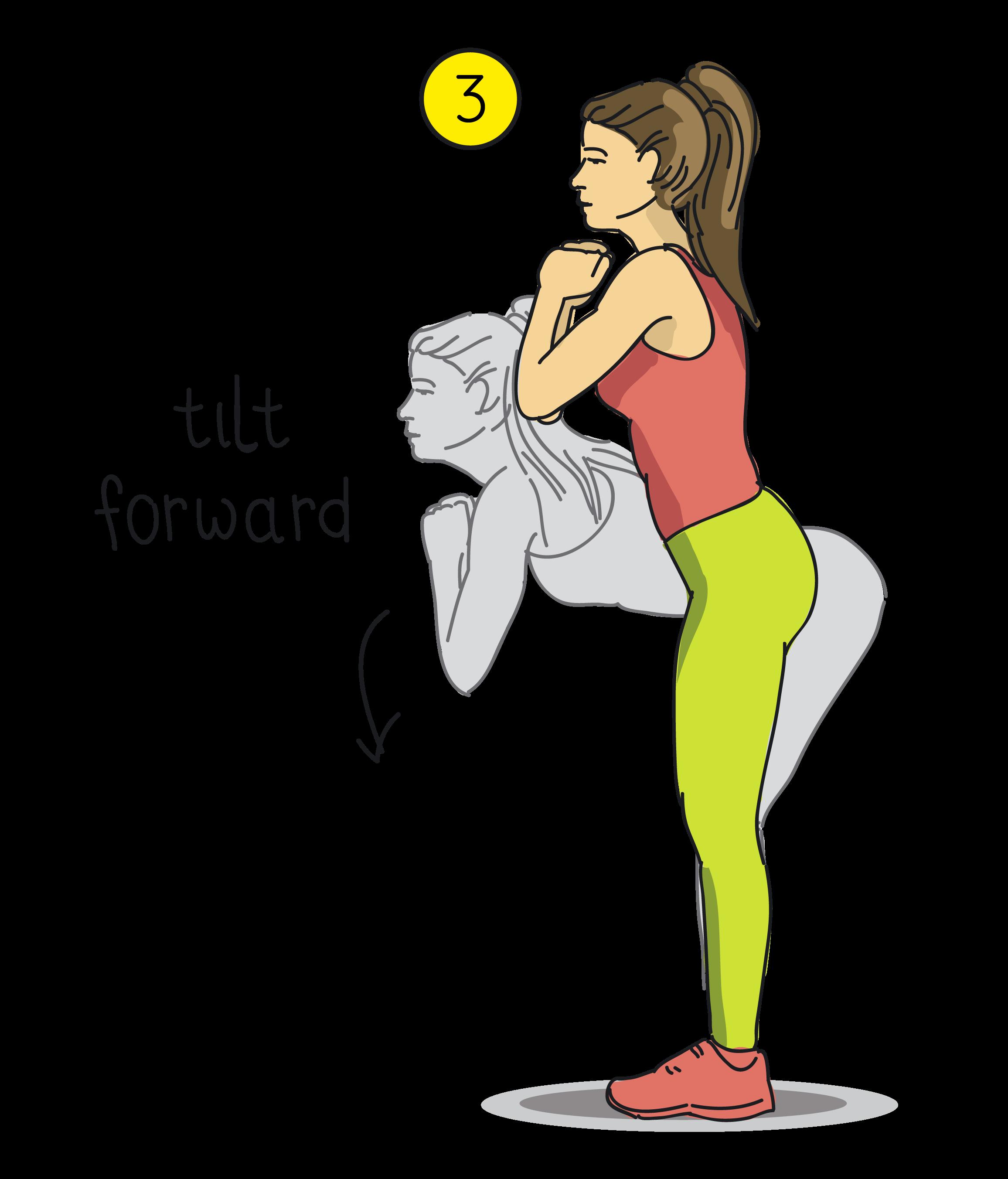 forward tilt