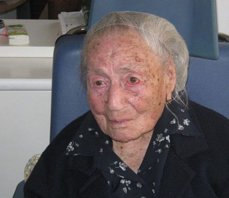 europe's oldest living person
