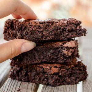 tahini brownies