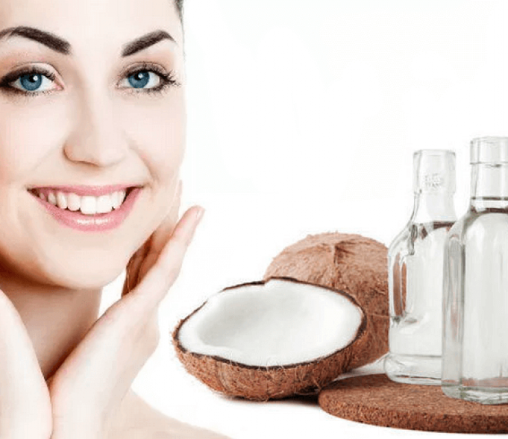 coconut oil gets rid of acne