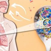 breathing in microplastic
