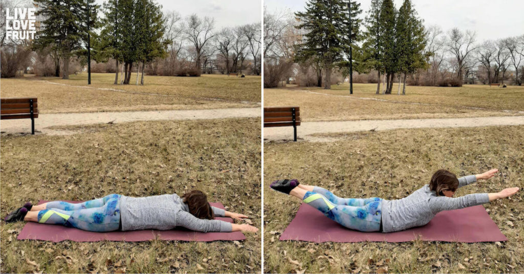 superman exercise to undo damage of sitting too much